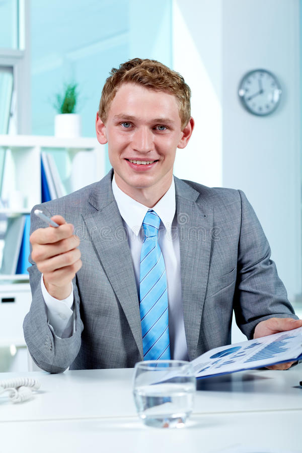 Download Successful boss stock photo. Image of businesspeople - 23565880