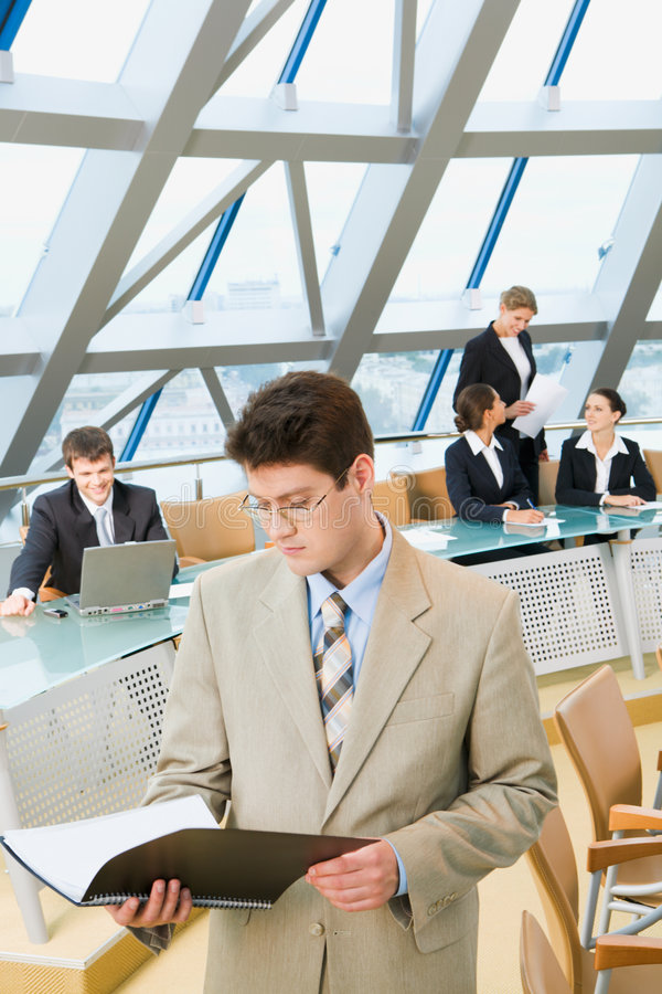 Download Successful boss stock photo. Image of handsome, corporate - 3008790