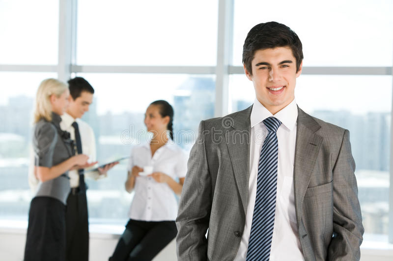 Successful boss royalty free stock photography
