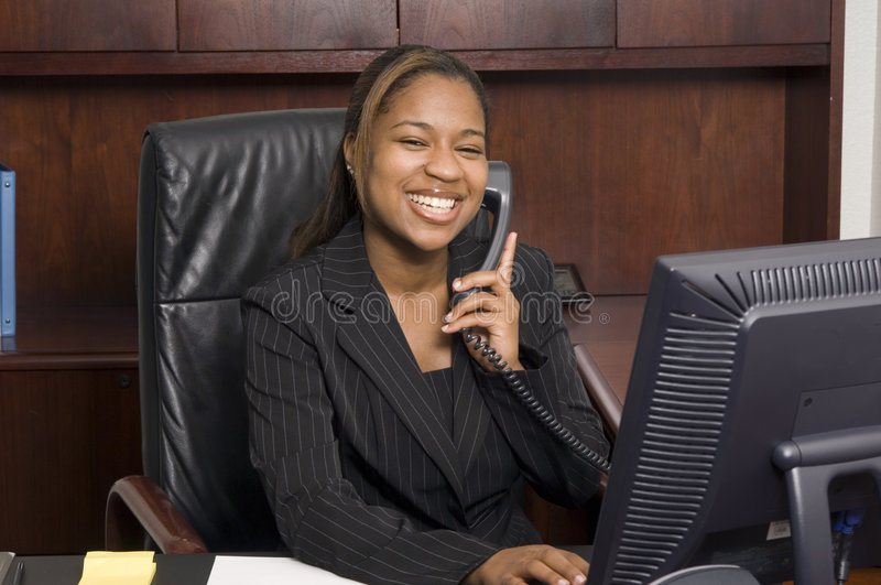 Successful Business Conversation Royalty Free Stock Photography