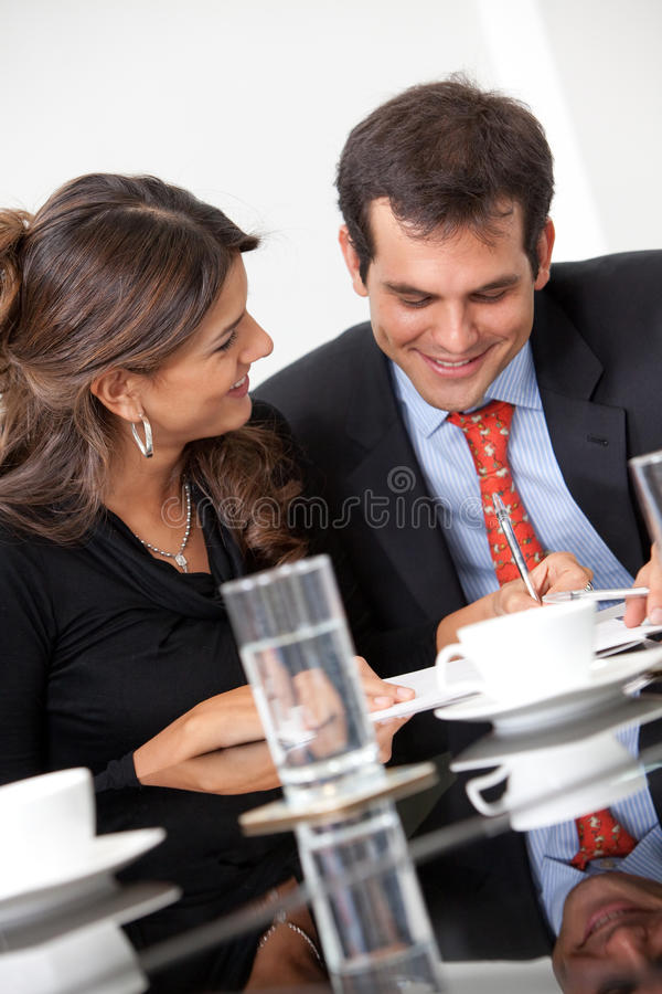 Download Successful business couple stock image. Image of entrepreneurs - 12809411