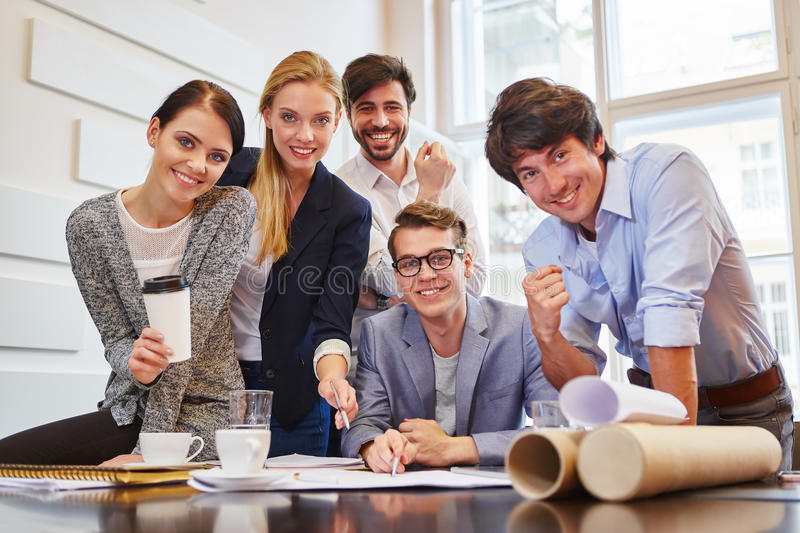 Successful business group royalty free stock images
