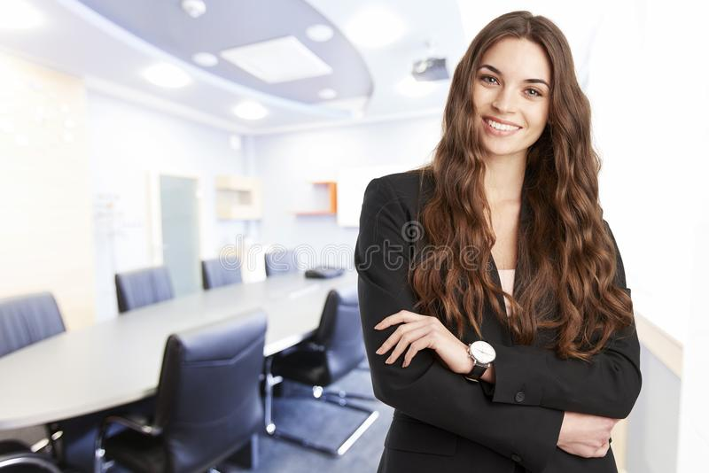 Successful in the business life stock image