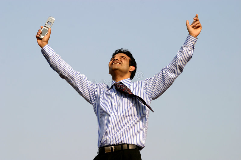 Download Successful  Business Man Royalty Free Stock Photo - Image: 4394705