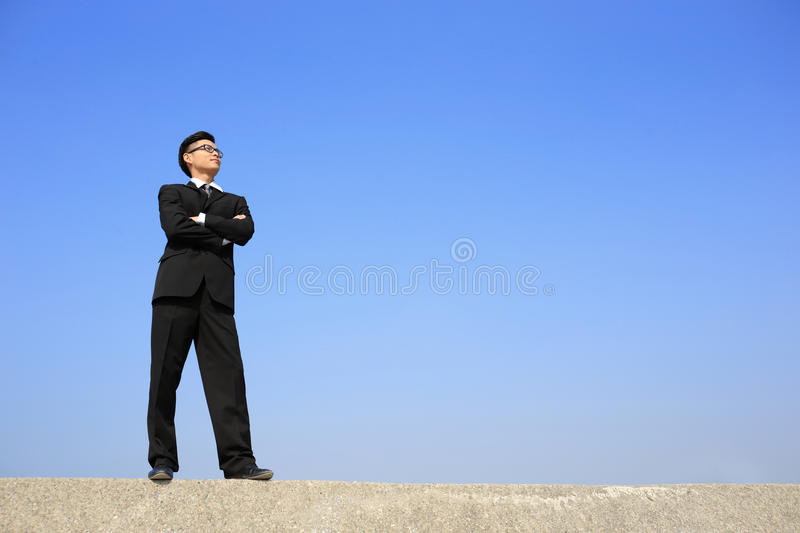 Successful business man royalty free stock images