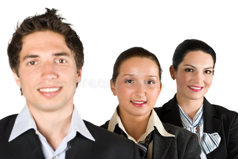 Successful business people royalty free stock image