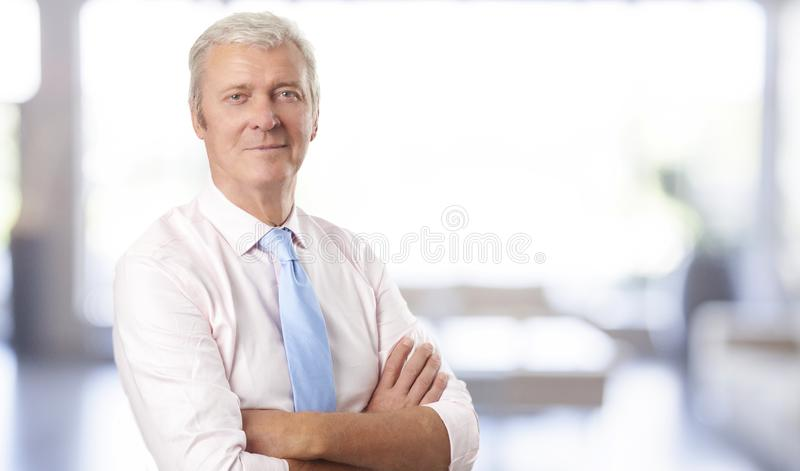 Successful in the business stock photo