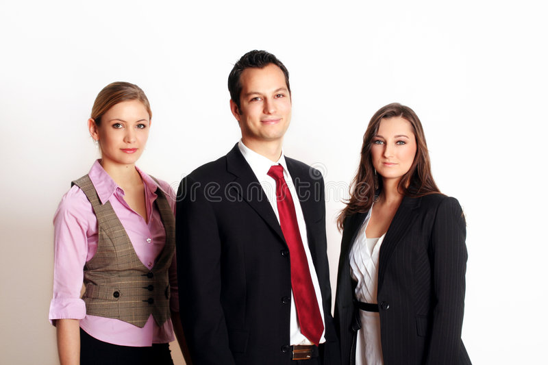 Successful business team royalty free stock photos