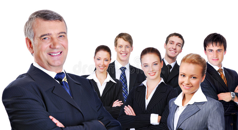 Download Successful business team stock photo. Image of businessman - 7710422