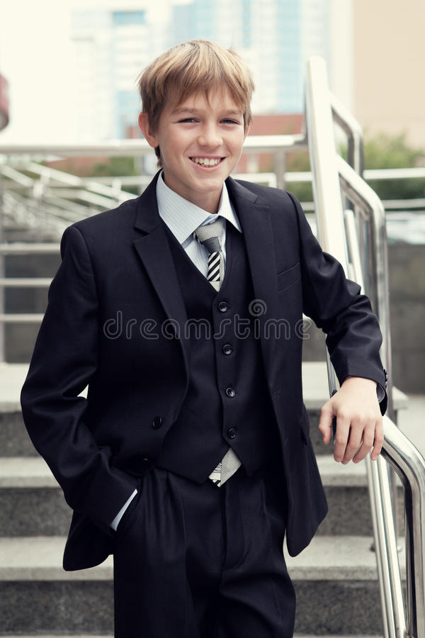 Download Successful Business Teen In Street Setting Stock Photo - Image: 26411162
