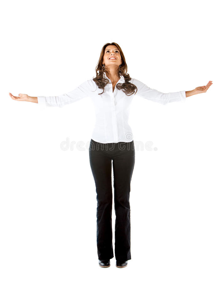 Download Successful business woman stock image. Image of white - 15653481