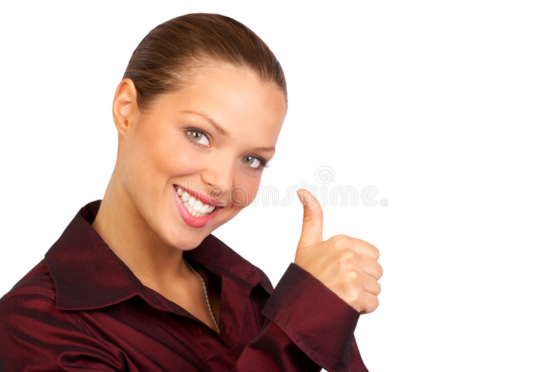 Successful business woman. stock image