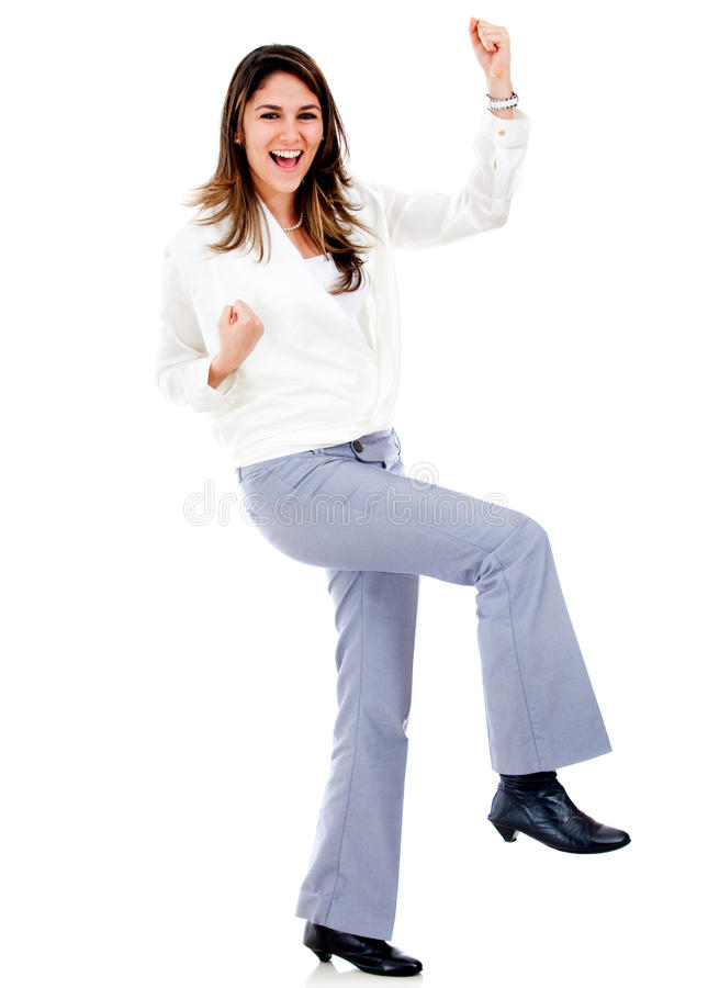 Download Successful business woman stock image. Image of fullbody - 24499013