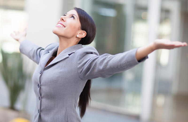 Download Successful business woman stock image. Image of celebrating - 25070265