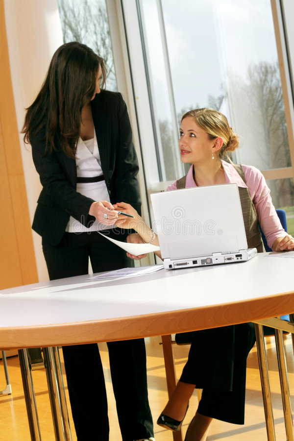 Download Successful business woman stock image. Image of discussing - 4757735