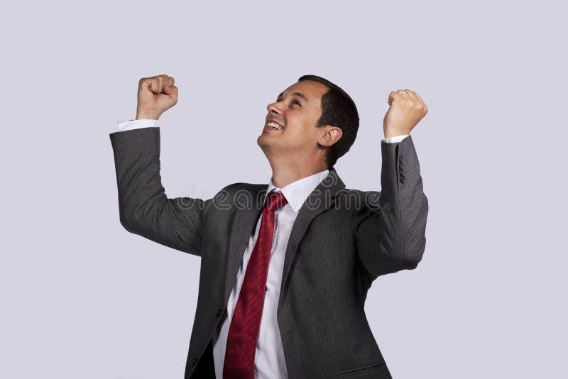 Successful businessman stock photography
