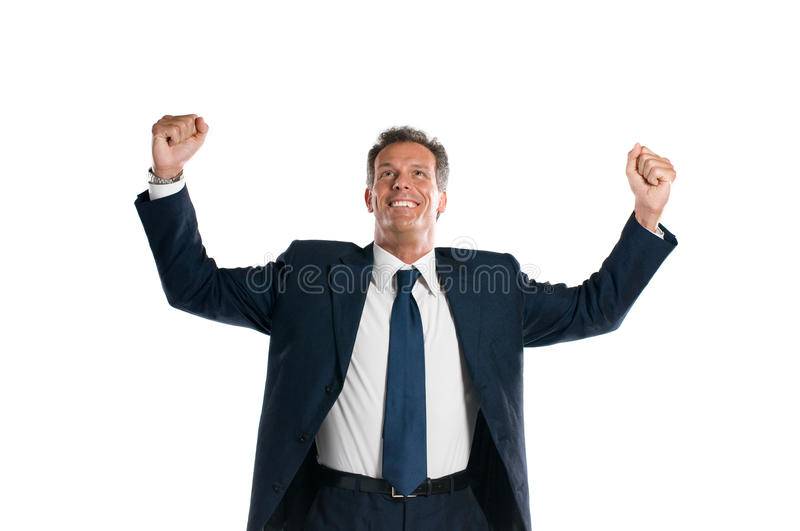 Download Successful businessman stock photo. Image of celebration - 9914996