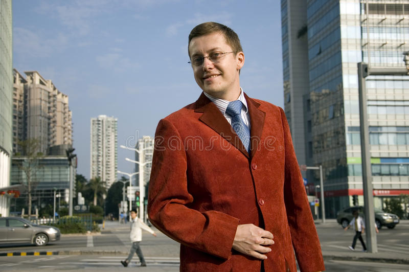 Download Successful Businessman In The City Stock Photo - Image: 12818730