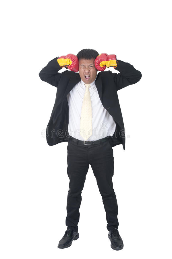A successful businessman royalty free stock photo