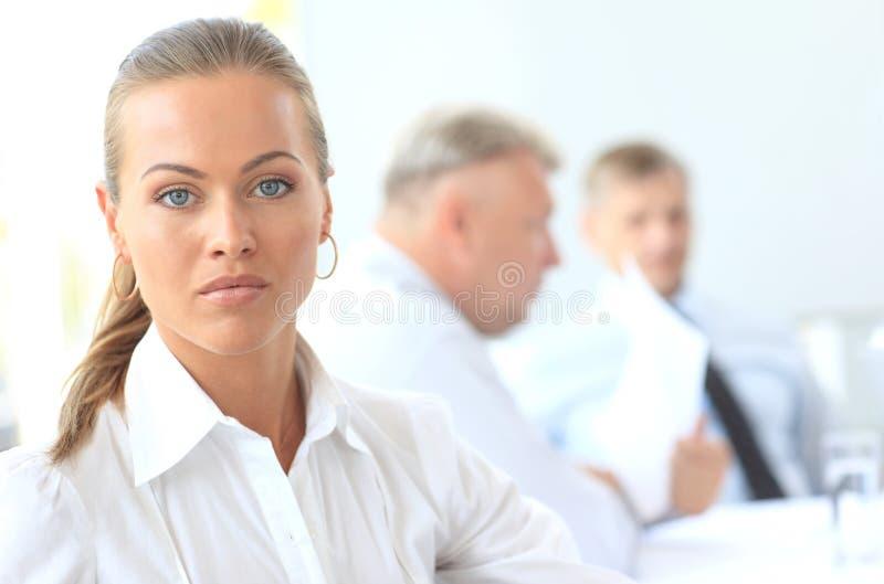 Download Successful businesswoman stock photo. Image of male, elegant - 26529992