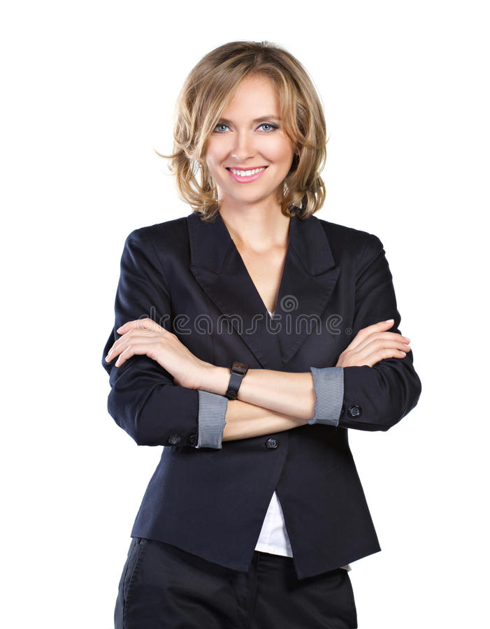 Download Successful businesswoman stock photo. Image of isolated - 26537820