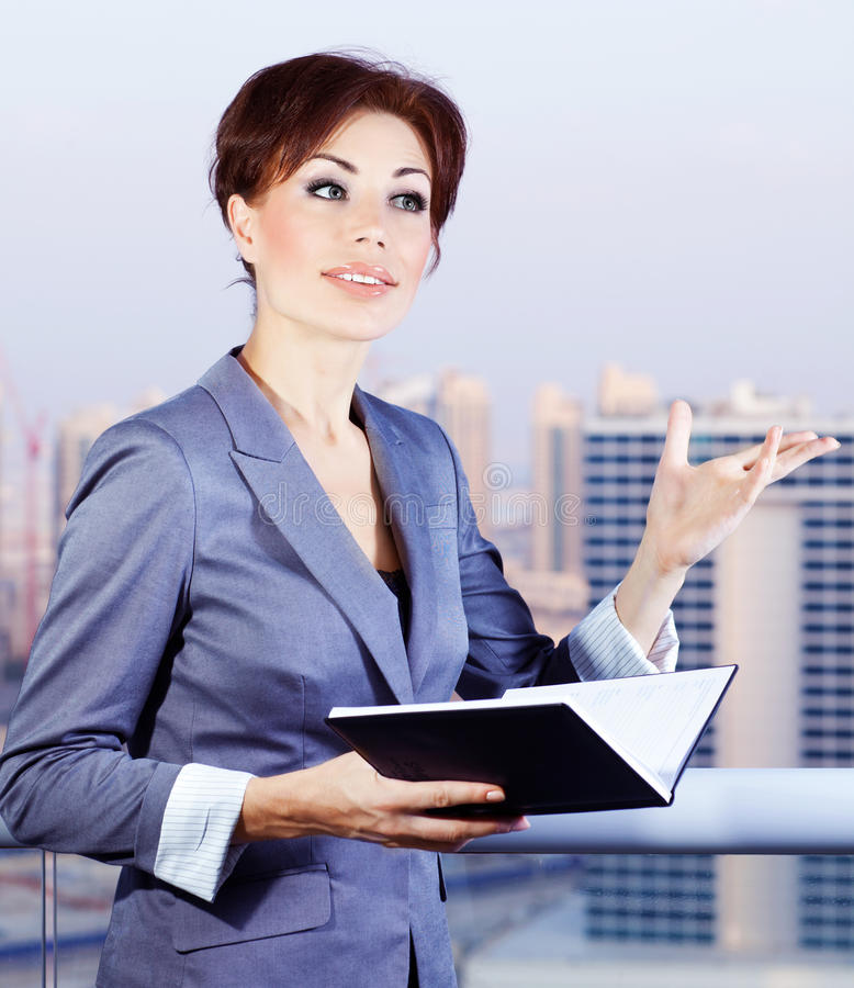 Download Successful businesswoman stock photo. Image of corporate - 26598898