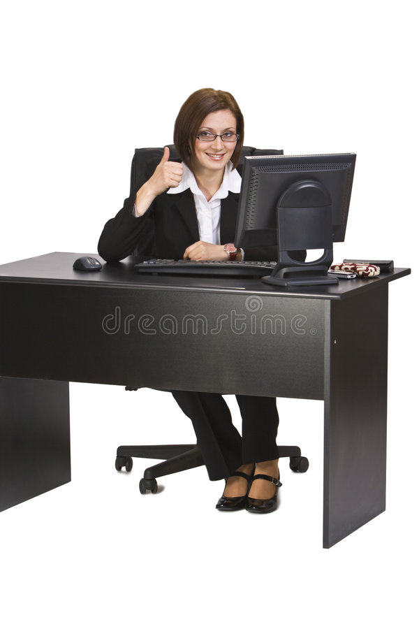 Download Successful businesswoman stock image. Image of executive - 7154065