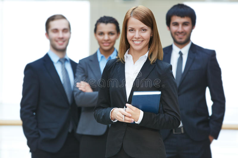 Download Successful businesswoman stock image. Image of employer - 33656565