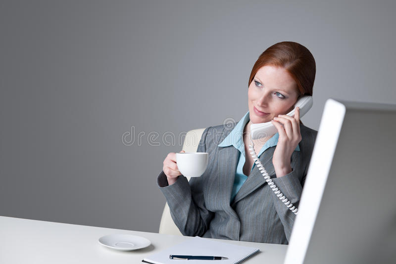 Download Successful Businesswoman On The Phone Stock Image - Image: 13446763