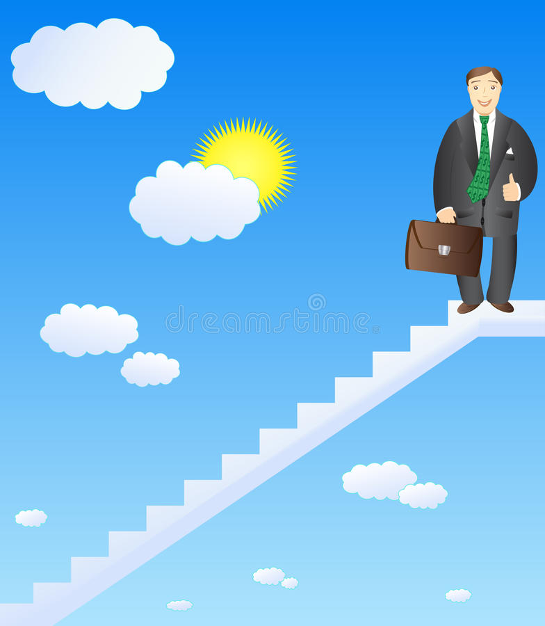 Successful Career Businessman Royalty Free Stock Images