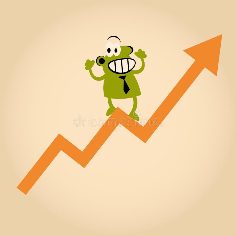 Download Successful cartoon man stock vector. Image of business - 24167554