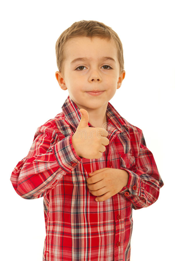 Download Successful child boy stock image. Image of give, attitude - 23473327