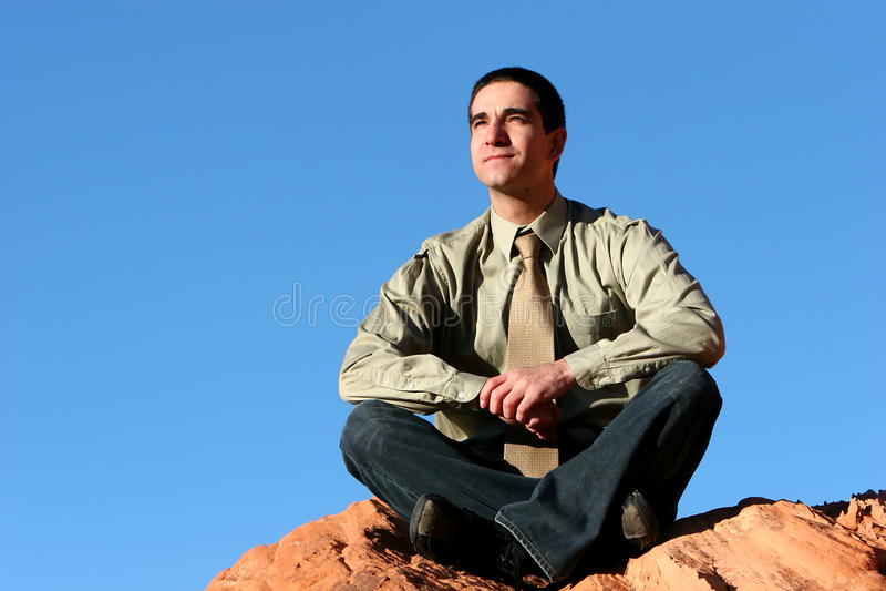 Download Successful Confident Businessman Stock Image - Image: 12719295