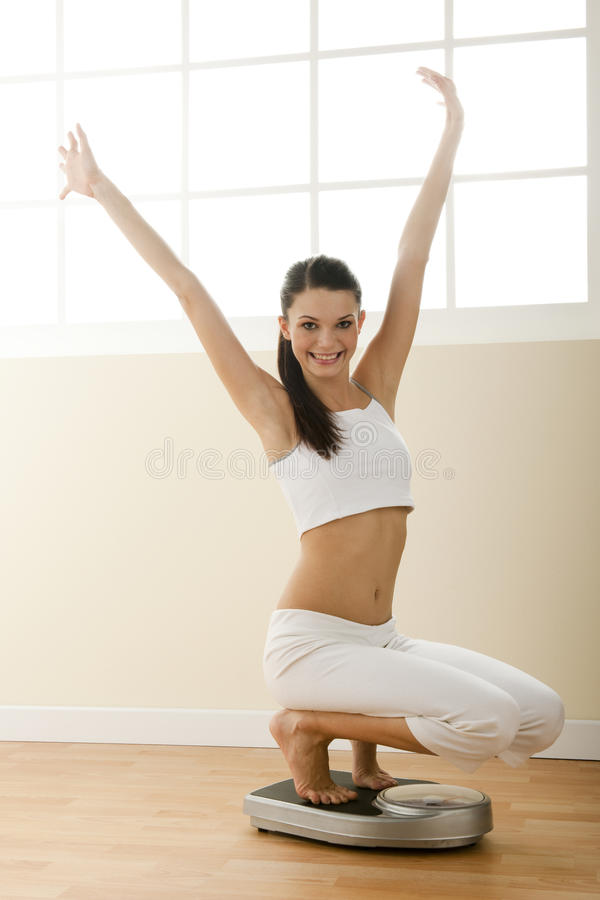 Successful Diet! Royalty Free Stock Photo