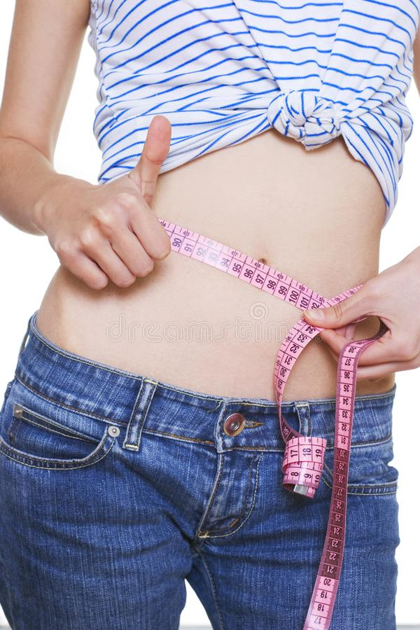 Successful diet royalty free stock photography