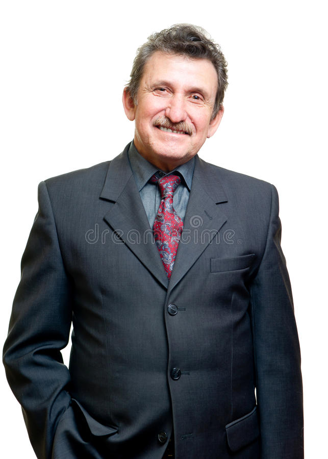 Download Successful Elder Businessman Stock Photo - Image: 24683540