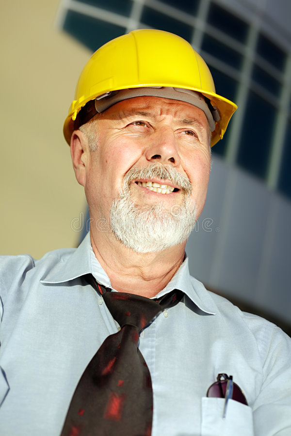 Successful engineer royalty free stock photo
