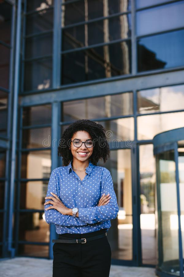 Successful female business professional royalty free stock photo