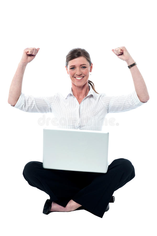 Download Successful Female Manager, Studio Shot Stock Photo - Image: 33497296
