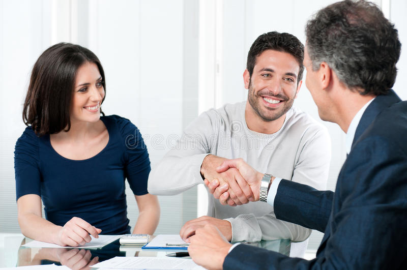 Successful Financial Plans Royalty Free Stock Photo