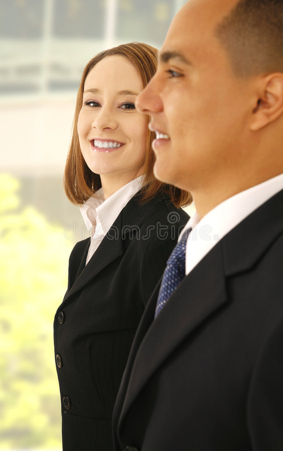 Successful And Happy Business Team royalty free stock images