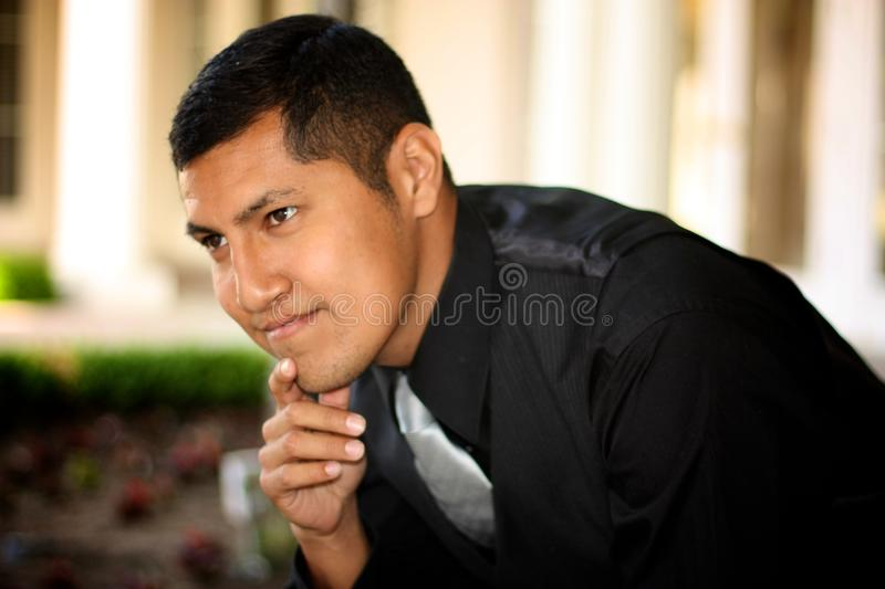 Successful Hispanic Male stock images
