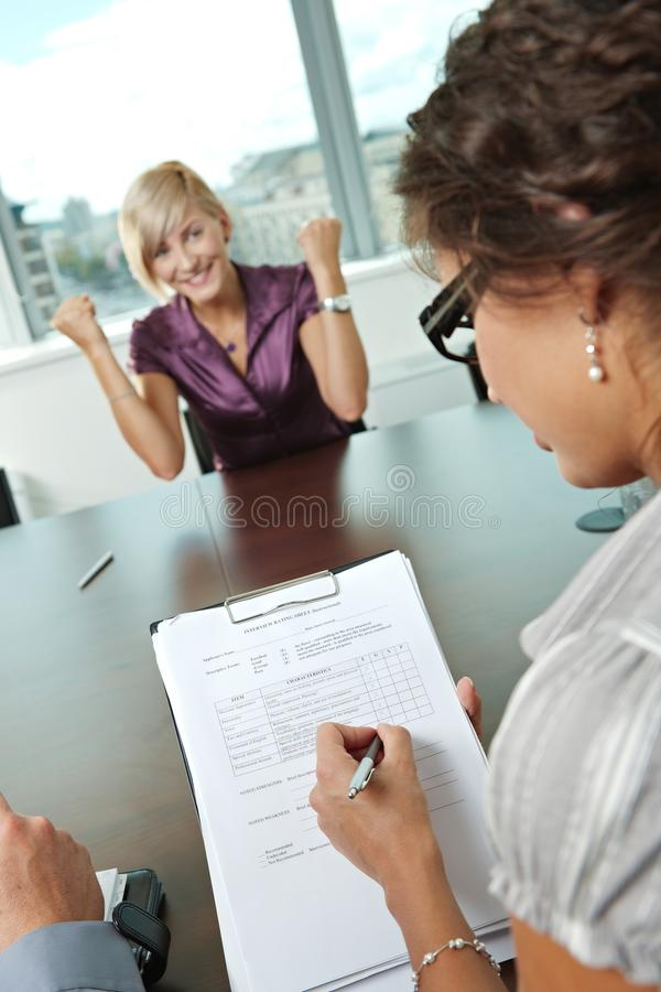 Download Successful Job Interview Stock Photography - Image: 11369482