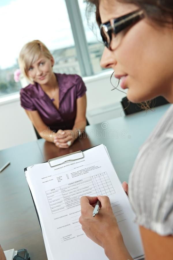 Download Successful Job Interview Royalty Free Stock Images - Image: 11733269