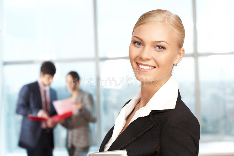 Successful leader royalty free stock images