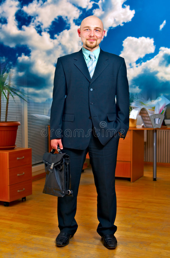 Download Successful leader stock image. Image of briefcase, employee - 5363099