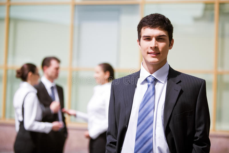 Download Successful male stock photo. Image of face, outdoors, manager - 9607408