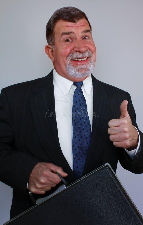 Successful Male Job Seeker stock photo