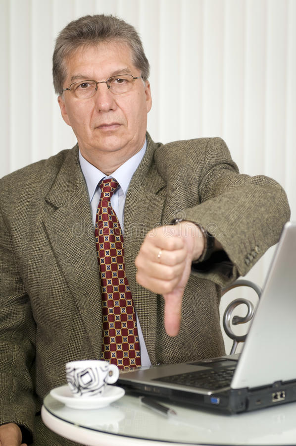 Successful manager royalty free stock photo
