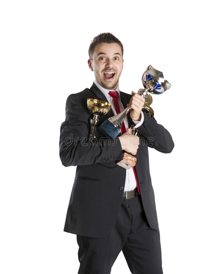 Download Successful manager stock image. Image of confident, celebration - 28147893
